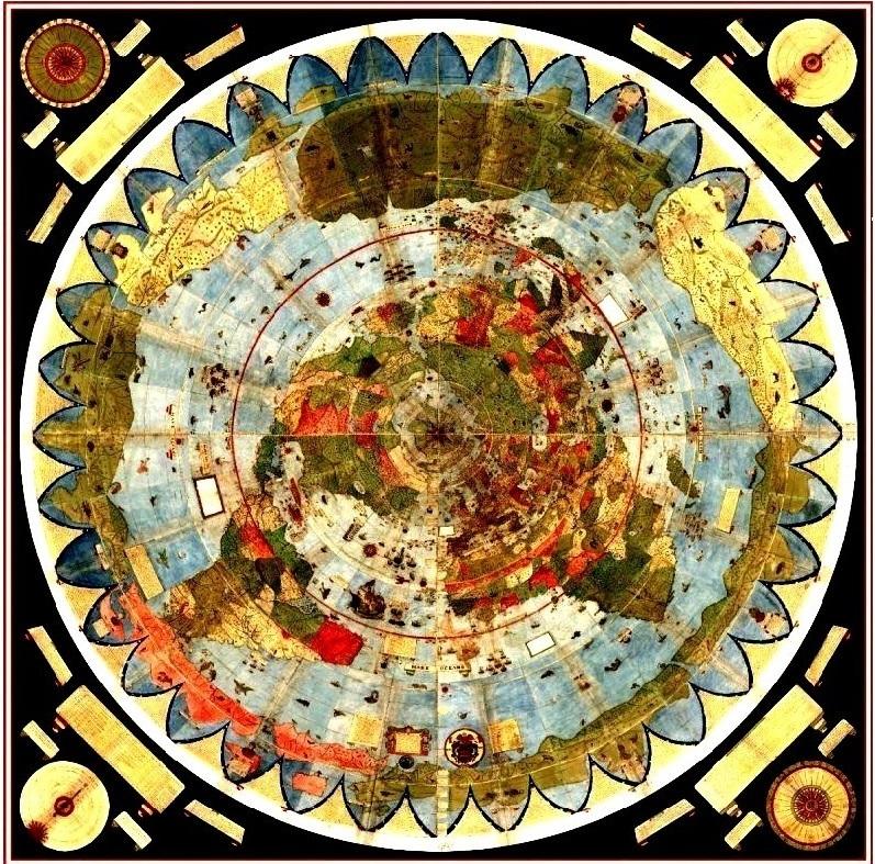 Валерий Чудинов. Странная карта Урбано Монте и её чтение