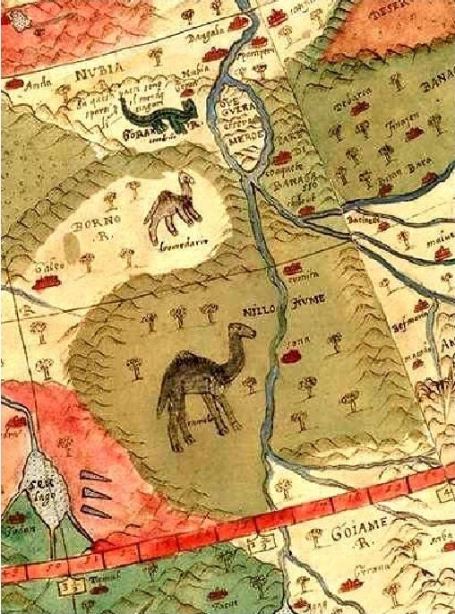 карта Урбано Монте